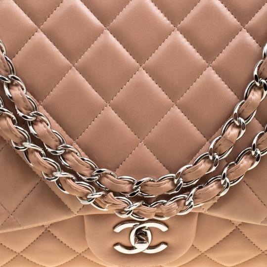 Chanel Leather Quilted Dusty Classic Shoulder Bag Image 5