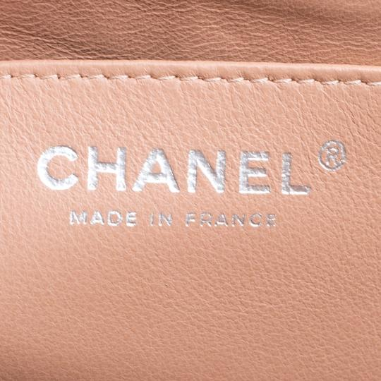 Chanel Leather Quilted Dusty Classic Shoulder Bag Image 6
