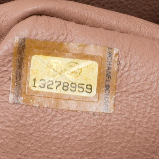 Chanel Leather Quilted Dusty Classic Shoulder Bag Image 7