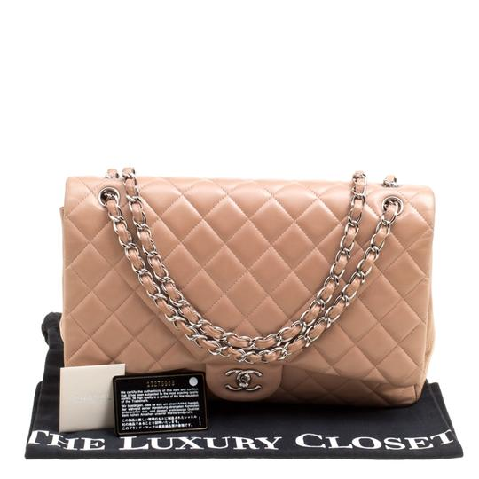 Chanel Leather Quilted Dusty Classic Shoulder Bag Image 8