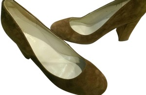 Marc Fisher Suede BROWN COFFEE Pumps