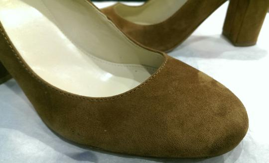Marc Fisher Suede BROWN COFFEE Pumps Image 1