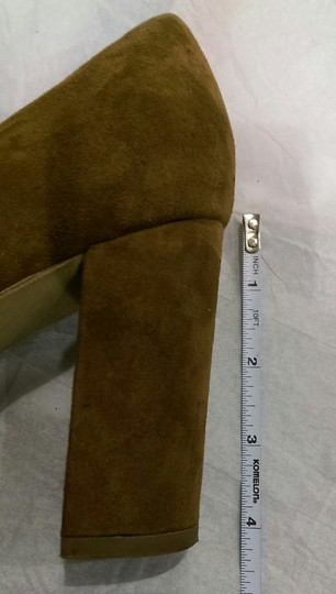 Marc Fisher Suede BROWN COFFEE Pumps Image 10