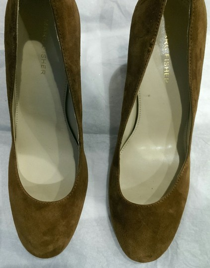 Marc Fisher Suede BROWN COFFEE Pumps Image 3