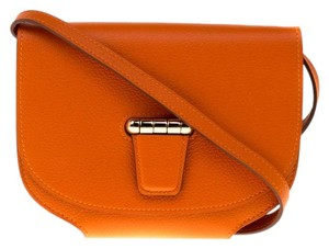 Hermes Leather Gold Hardware Evercolor Shoulder Bag