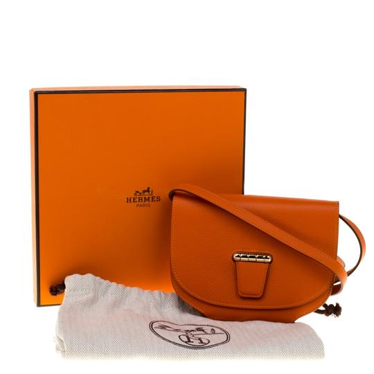 Hermes Leather Gold Hardware Evercolor Shoulder Bag Image 7