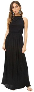 Black Maxi Dress by Forever 21