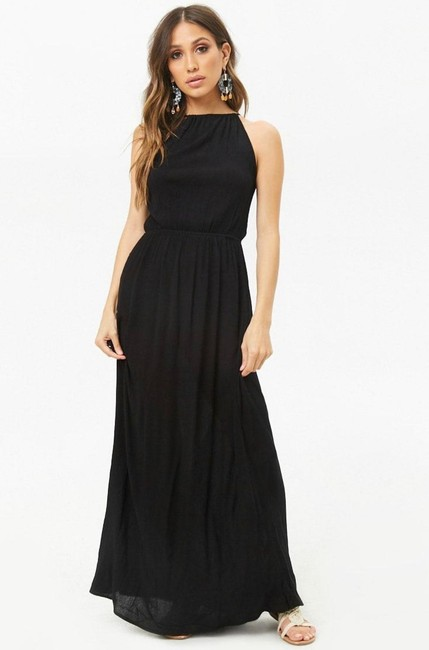 Black Maxi Dress by Forever 21 Image 2