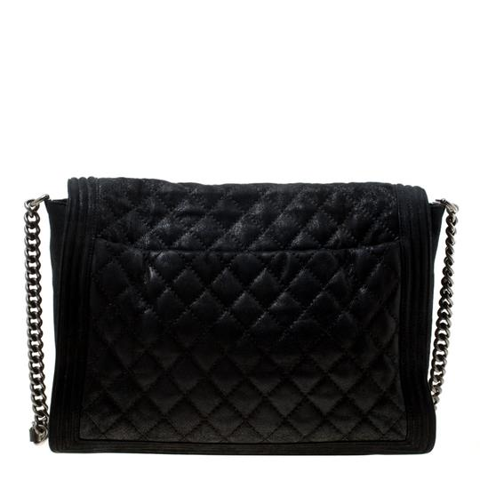 Chanel Leather Fabric Quilted Shoulder Bag Image 1