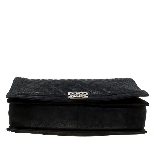 Chanel Leather Fabric Quilted Shoulder Bag Image 3