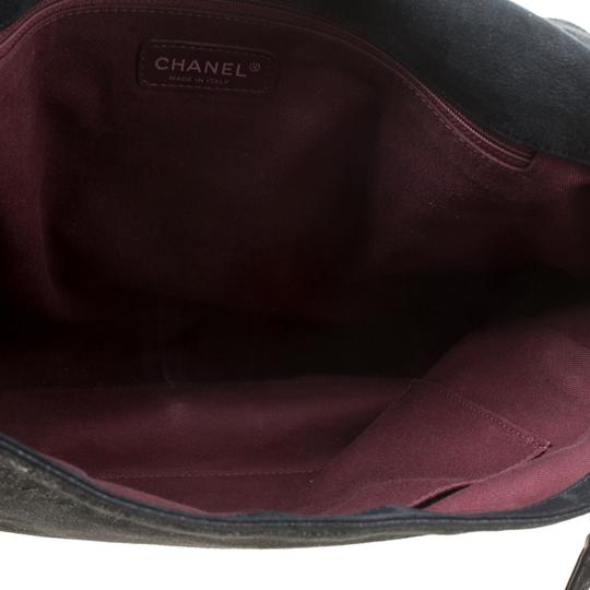 Chanel Leather Fabric Quilted Shoulder Bag Image 4