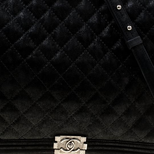 Chanel Leather Fabric Quilted Shoulder Bag Image 6