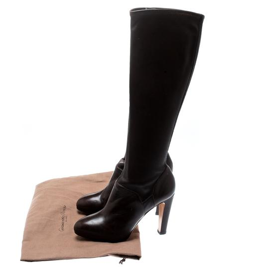 Gianvito Rossi Leather Knee High Brown Boots Image 7