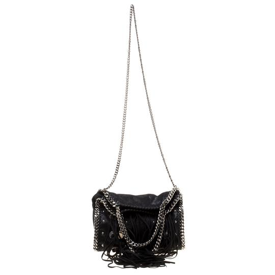 Stella McCartney Faux Leather Fabric Tote in Black Image 10