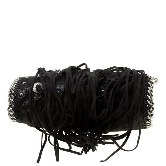 Stella McCartney Faux Leather Fabric Tote in Black Image 6