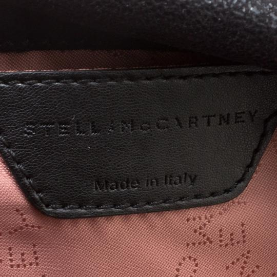 Stella McCartney Faux Leather Fabric Tote in Black Image 9