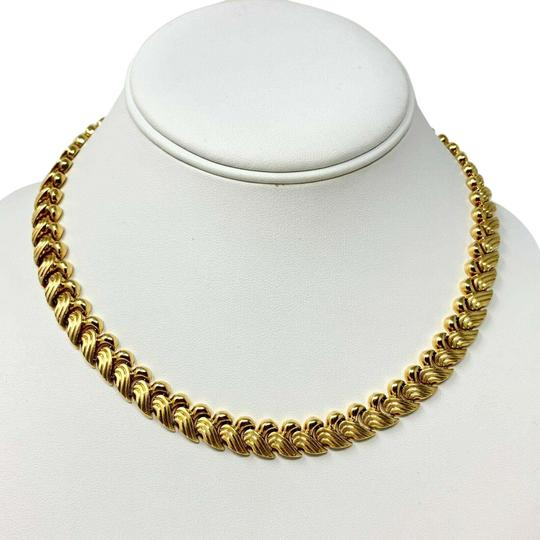Preload https://img-static.tradesy.com/item/25921767/14k-yellow-gold-36g-fancy-link-wave-design-chain-italy-17-necklace-0-1-540-540.jpg