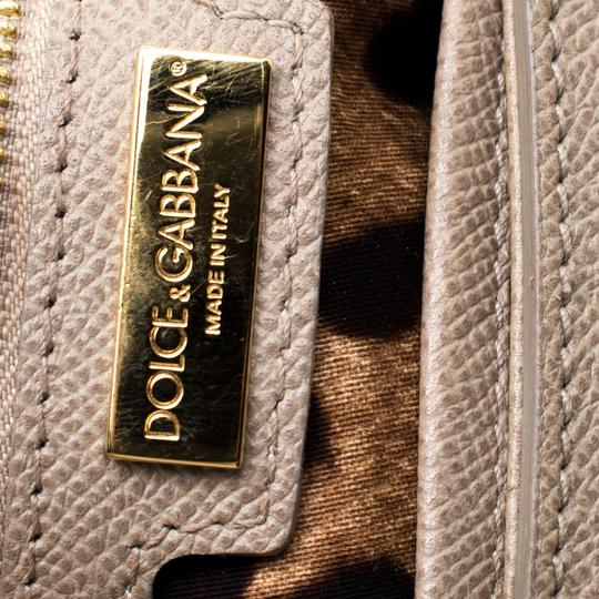 Dolce&Gabbana Leather Fabric Shoulder Bag Image 8