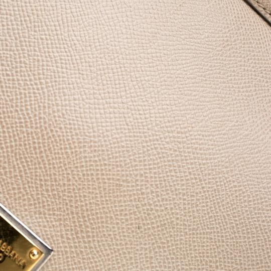 Dolce&Gabbana Leather Fabric Shoulder Bag Image 9