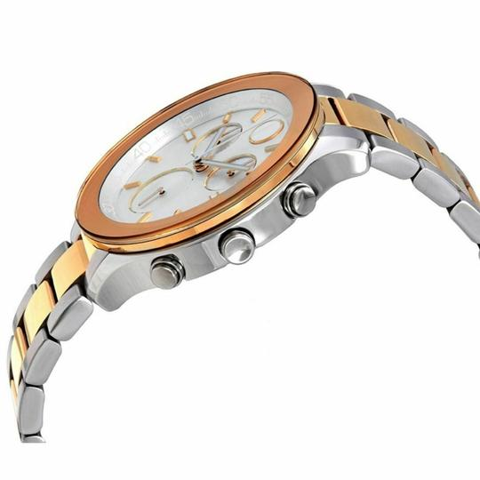 Movado Movado Women's Bold Silver Dial Two Tone Chronograph Watch 3600546 Image 2