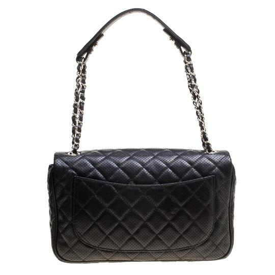 Chanel Leather Fabric Perforated Shoulder Bag Image 1