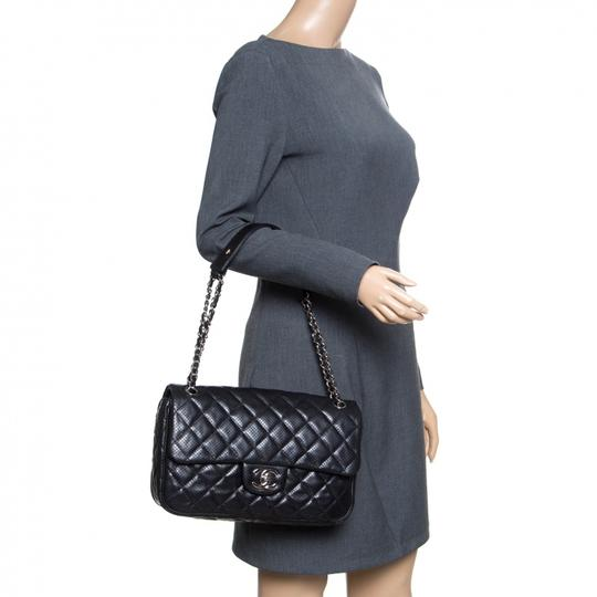 Chanel Leather Fabric Perforated Shoulder Bag Image 2