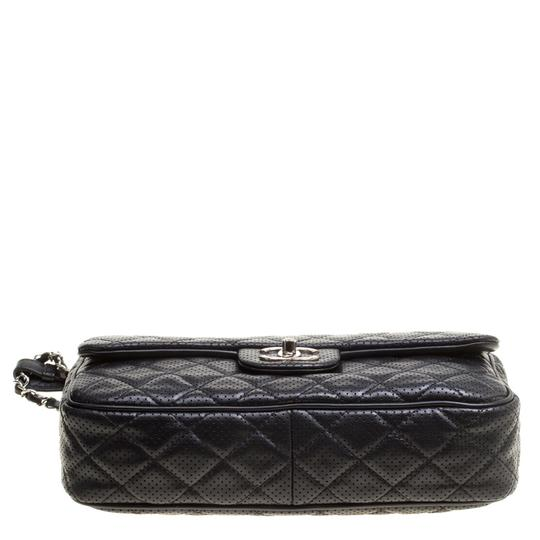 Chanel Leather Fabric Perforated Shoulder Bag Image 5