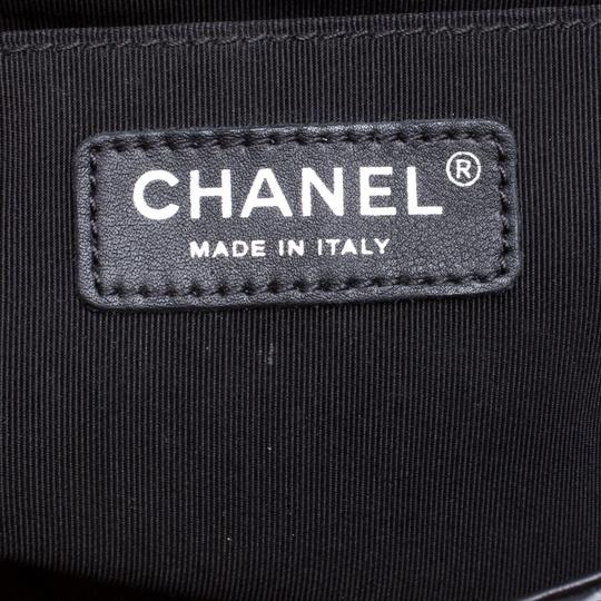 Chanel Leather Fabric Perforated Shoulder Bag Image 6