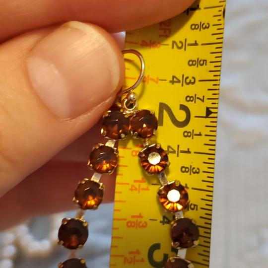 Dillard's Sparkly Earrings set of two pairs Image 3