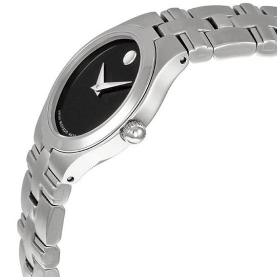 Movado Movado Women's Black Dial/Silver Stainless Steel Watch 0605024 Image 1