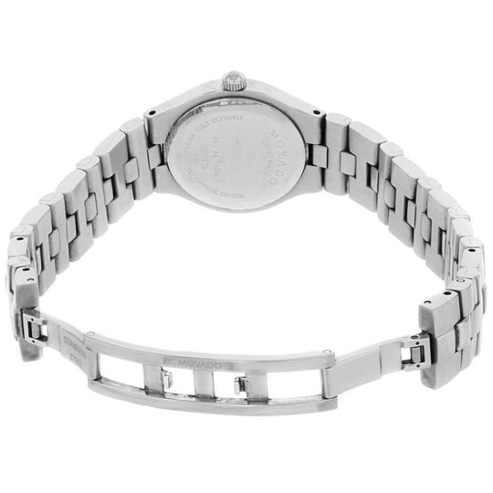 Movado Movado Women's Black Dial/Silver Stainless Steel Watch 0605024 Image 2