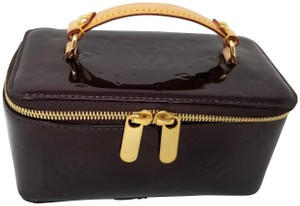 Louis Vuitton Louis Vuitton Jewelry Case Travel Bag Vernis Leathe