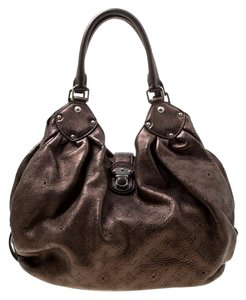 Louis Vuitton Leather Monogram Hobo Bag