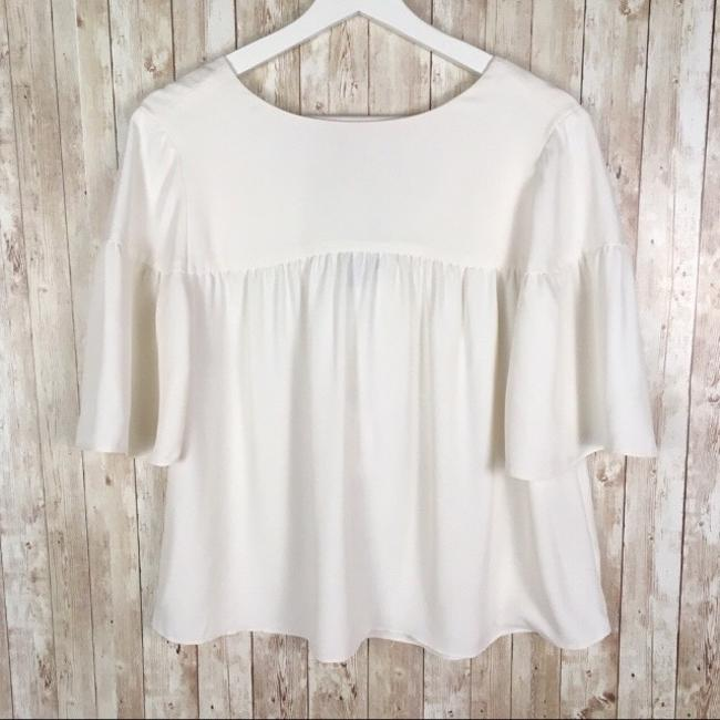 Ann Taylor Top Ivory Image 1