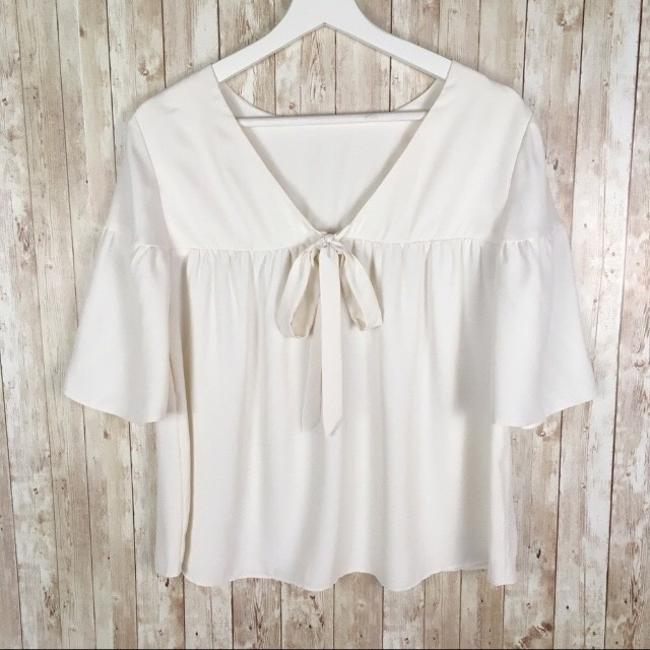 Ann Taylor Top Ivory Image 2