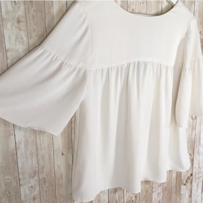 Ann Taylor Top Ivory Image 3