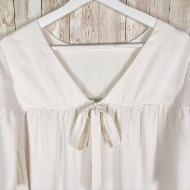 Ann Taylor Top Ivory Image 4