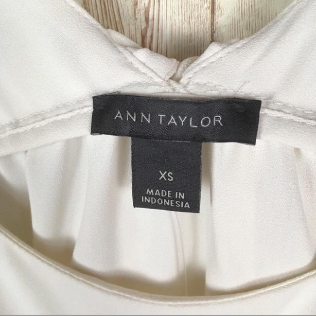 Ann Taylor Top Ivory Image 5