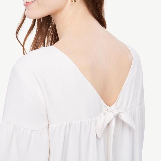 Ann Taylor Top Ivory Image 7