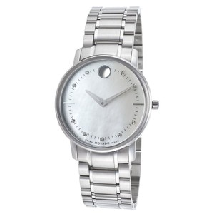 Movado Movado Women's TC Diamond Mother of Pearl Dial Watch 0606691
