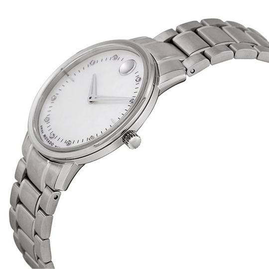 Movado Movado Women's TC Diamond Mother of Pearl Dial Watch 0606691 Image 2
