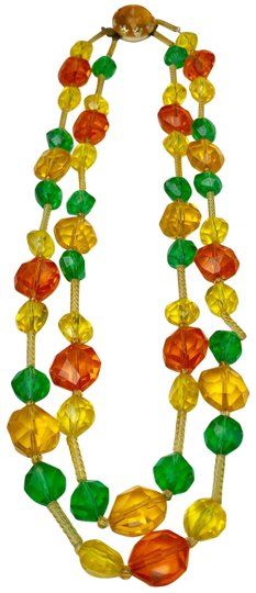 Preload https://img-static.tradesy.com/item/25921912/yellow-western-germany-colorful-beaded-necklace-0-3-540-540.jpg