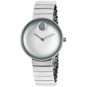 Movado Movado Women's Edge Silver Dial Stainless Steel Watch 3680015