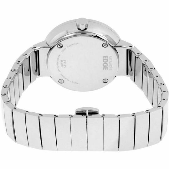 Movado Movado Women's Edge Silver Dial Stainless Steel Watch 3680015 Image 1