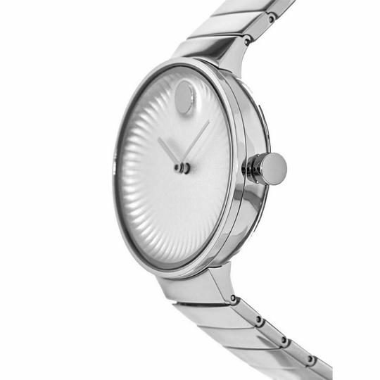 Movado Movado Women's Edge Silver Dial Stainless Steel Watch 3680015 Image 2