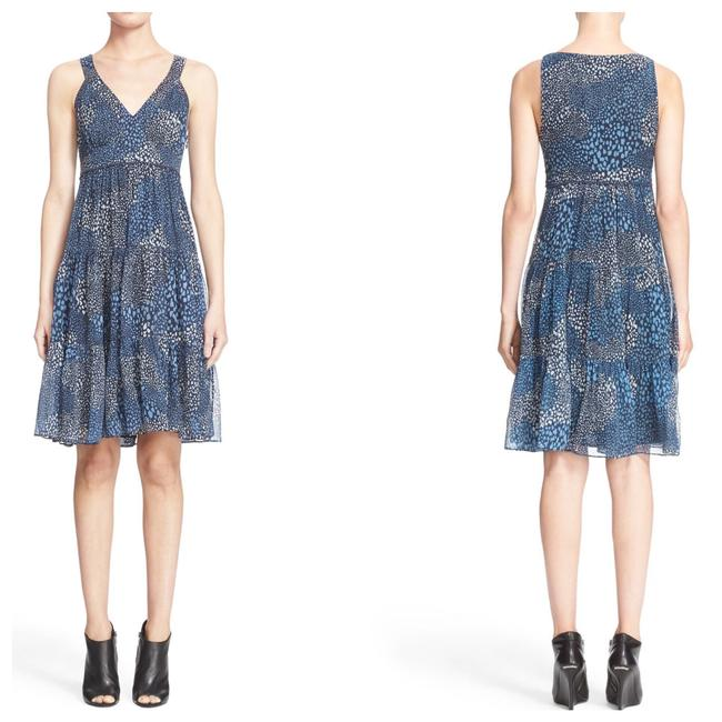 Preload https://img-static.tradesy.com/item/25921934/burberry-brit-blue-ophelia-silk-fit-and-flare-v-neck-short-casual-dress-size-10-m-0-0-650-650.jpg
