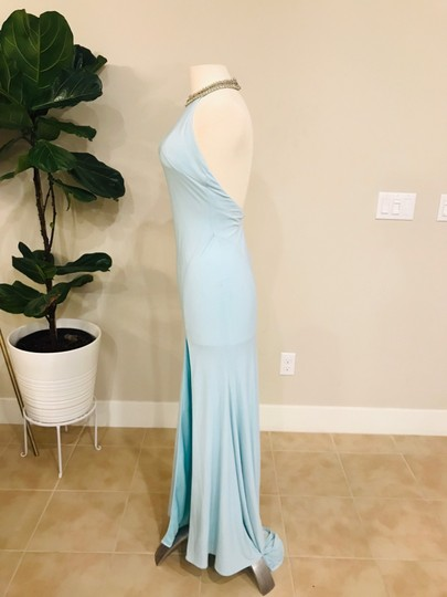 Mac Duggal Couture Ieena For Blue Gown Formal Wedding Dress Size 2 (XS) Image 1