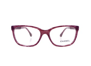 Chanel Chanel CH3262 c.1440 Velvet Accent Eyeglasses RX Frames 53mm Italy