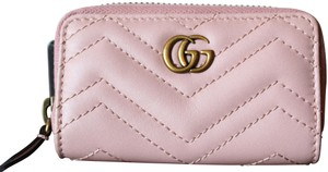 Gucci GUCCI Marmont Leather Key Case pink