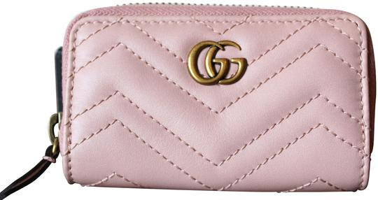 Preload https://img-static.tradesy.com/item/25922005/gucci-pink-marmont-leather-key-case-wallet-0-1-540-540.jpg
